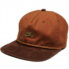 Nike SB Waxed Canvas Pro Hat - Ale Brown/Baroque Brown/Anthracite