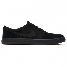 Nike SB Solarsoft Portmore II Shoes - Black/Black/Anthracite