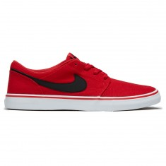 Nike SB Portmore II Solar Premium Shoes - University Red/Black/White