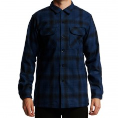 Pendleton Fitted Longsleeve Board Shirt - Blue/Black Ombre