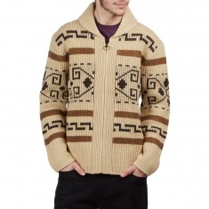 Pendleton The Original Westerly Sweater - Tan/Brown