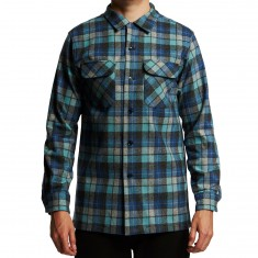 Pendleton Fitted Longsleeve Board Shirt - Blue/Green Original Surf Plaid