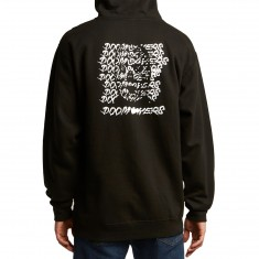 Doom Sayers Ghost Face Hoodie - Black