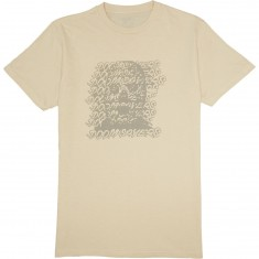 Doom Sayers Ghost Face T-Shirt - Bone Heather