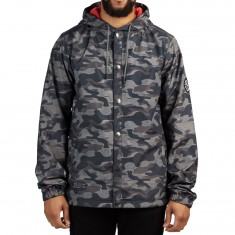 Saga Coaches Jacket - Black Camo