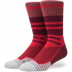 Stance Meara Crew Socks - Red