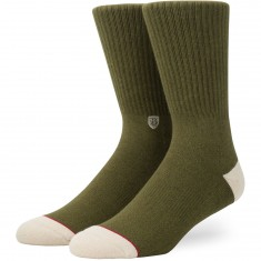 Stance X Brixton Surplus Socks - Army