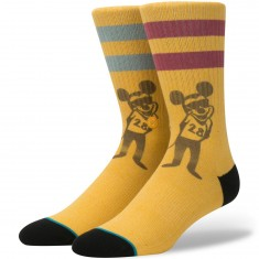 Stance X Disney Pope Mouse Socks - Gold