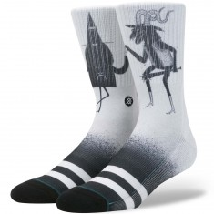 Stance Wizard Time Socks - White