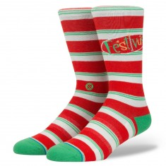 Stance Festivus Socks - Red
