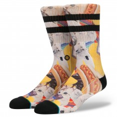 Stance Spacecats Socks - Yellow