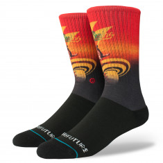Stance X Bad Brains Into The Future Socks - Black