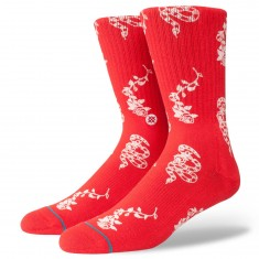 Stance Rossa Socks - Red