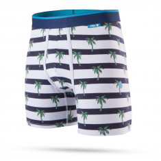 Stance Island Stripes Wholester Boxer Brief - Navy