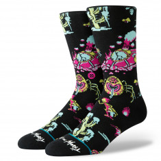 49a9fa6a5e Stance x Rick and Morty Crash Landing Socks - Black