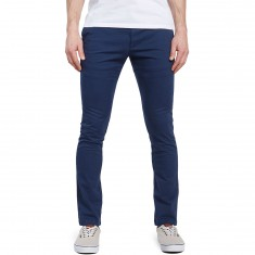 RVCA Stapler Twill Pants - Federal Blue