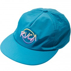 RVCA Layd Back Snapback Hat - Blue