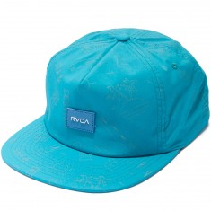 RVCA Sea and Destroy Hat - Nile Blue