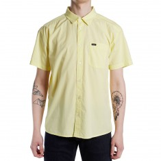 RVCA Front Lawn Shirt - Lemonade