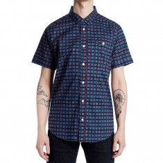 RVCA Shaded Shirt - Dark Blue