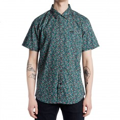RVCA Top Poppy Shirt - Federal Blue