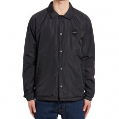 RVCA All The Way Coaches Jacket - Black