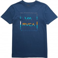 RVCA Stringer All The Way T-shirt - Dark Denim