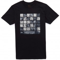 RVCA Checker Photo T-shirt - Black