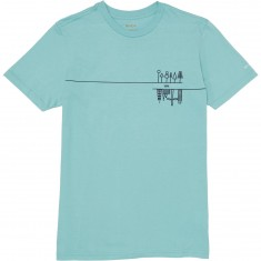 RVCA Marshalville T-shirt - Nile Blue