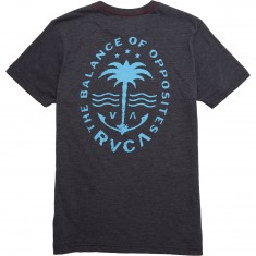 RVCA Anchor Palm T-shirt - Black