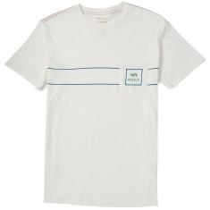 RVCA VA All the Way 2 Color T-shirt - Antique White
