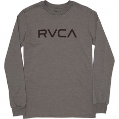 RVCA Big RVCA Long Sleeve T-shirt - Grey Noise