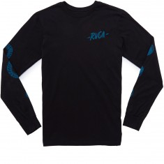 RVCA Moon Long Sleeve T-shirt - Black
