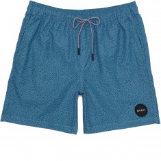 RVCA Speckled Elastic Boardshorts - Blue Jay