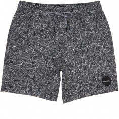 RVCA Speckled Elastic Boardshorts - Black