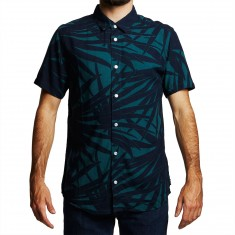 RVCA Dayoh Shirt - Pine Tree