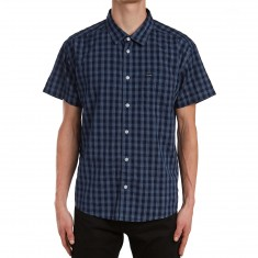 RVCA Dyeover Shirt - Ink Blue