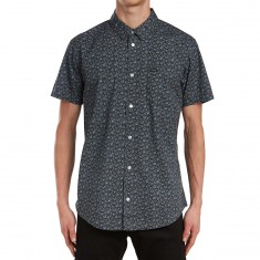 RVCA Porcelain Shirt - Pirate Black