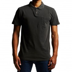 RVCA PTC Pigment Polo Shirt - Black