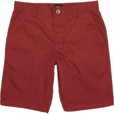 RVCA Week-End Stretch Shorts - Rosewood