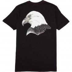 RVCA Eagle Head T-Shirt - Black