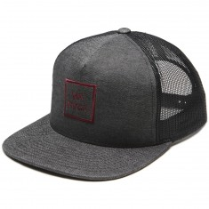 RVCA VA All The Way Trucker Hat - Black Heather