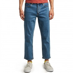 RVCA No Wave Flood Denim Jeans - Vintage Indigo
