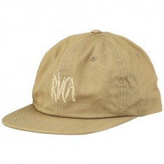 RVCA Local Time Snapback Hat - Tobacco