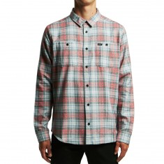 RVCA Diffusion Long Sleeve Shirt - Pirate Black