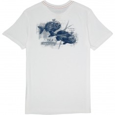 RVCA Machinery Of Behavior T-Shirt - Antique White