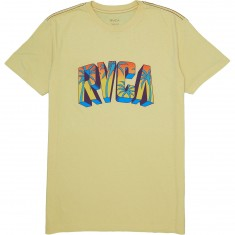 RVCA Block RVCA T-Shirt - Bright Lemon