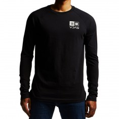 RVCA Kabuki Long Sleeve T-Shirt - Black