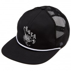 RVCA Scorpio Trucker Hat - Black