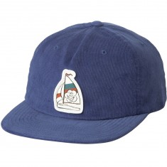 RVCA Sailin On Strapback Hat - Blue